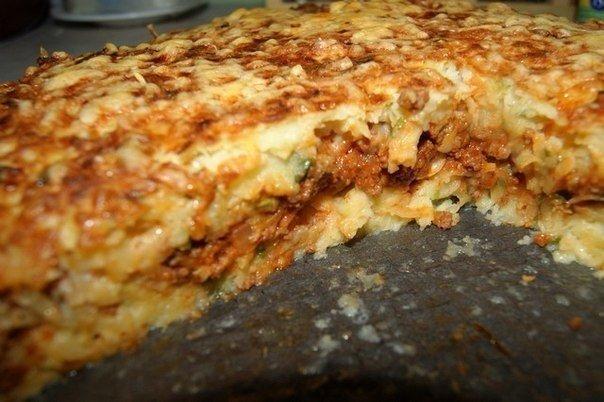 Картофельный пирог-запеканка