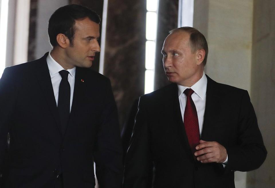 Бросок на Париж: о чем Путин мог договориться с Макроном