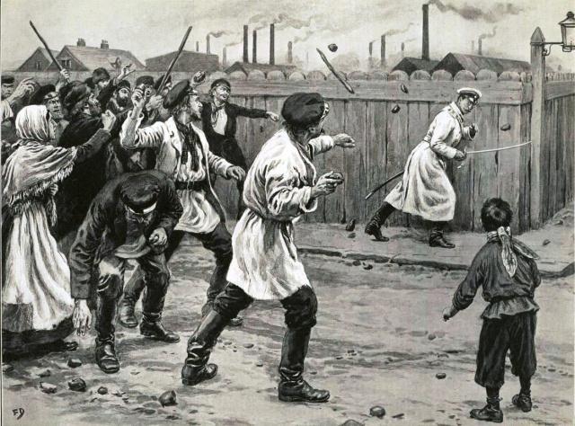 Первая русская революция глазами американцев