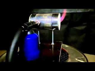 Самодельный газовый горн DIY