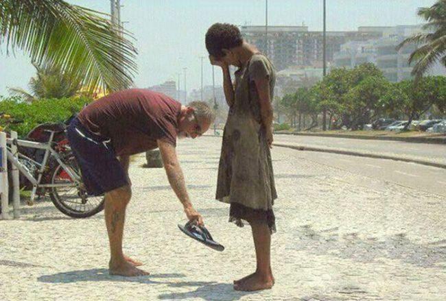 Доброта спасет мир