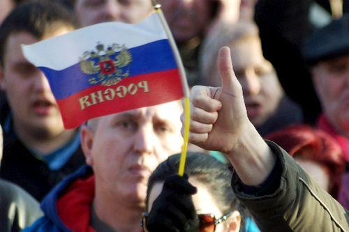 У дверей саммита G20 состоялась демонстрация в поддержку России