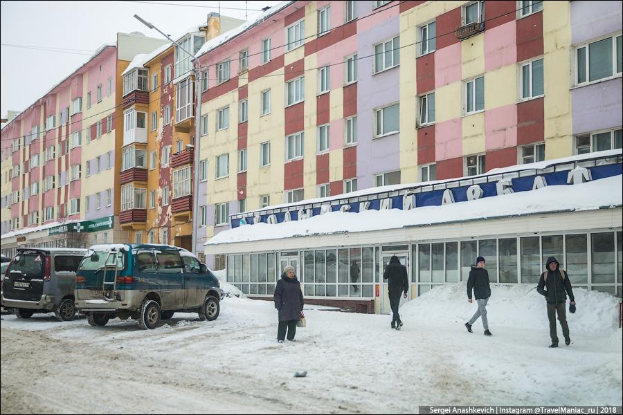 Улица Ленина в Магадане самая длинная в мире