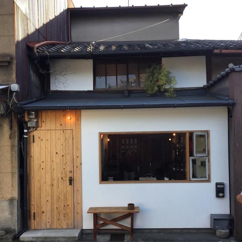 Витрина магазина архитектура, дома, здания, киото, маленькие здания, местный колорит, фото, япония