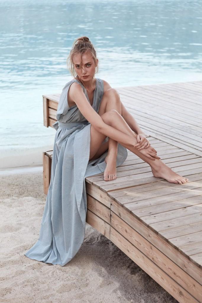 Александра Тикерпуу  в Marie Claire Turkey