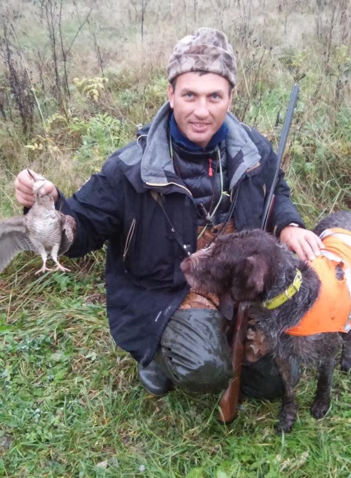 Охота на севере Тверской под Вышним Волочком
