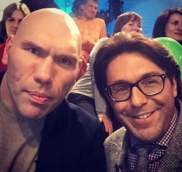 Андрей Малахов и Николай Валуев неожиданно оказались братьями