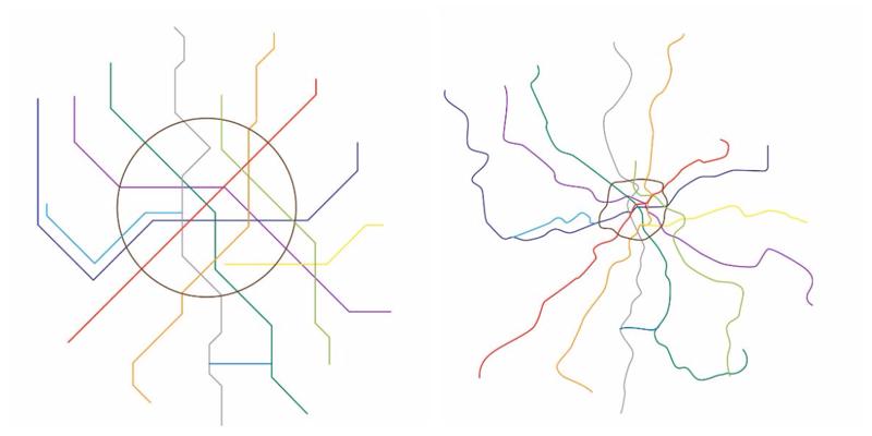 Как на самом деле отличается схема метро от реальности