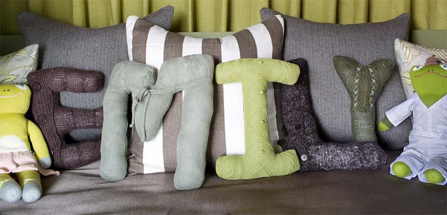 именные подушки