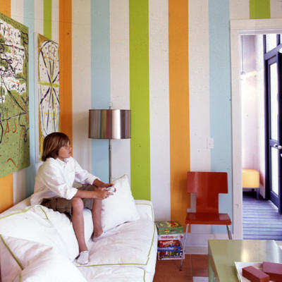 Wall paint designs stripes