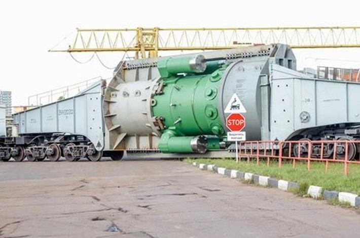 """Атомэнергомаш отправил первый реактор силовой установки """"РИТМ-200"""" для ледокола """"Сибирь"""""""