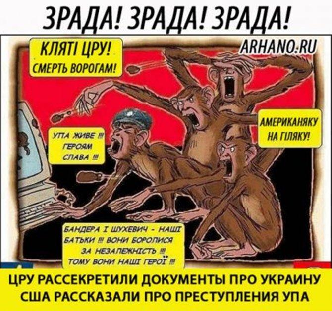 Патриоты в истерике: ЦРУ рассекретили документы про преступления ОУН-УПА
