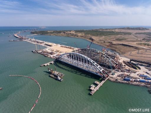 Крымский Мост рухнет, трассы Тавриды не будет, Путинская пропаганда