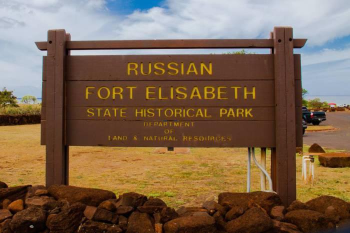 Национальный исторический парк Russian Fort Elisabeth.   Фото: novosti-dny.ru.