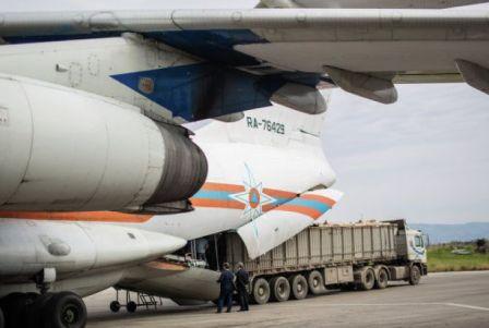 Армения отправит очередную партию гуманитарной помощи вСирию