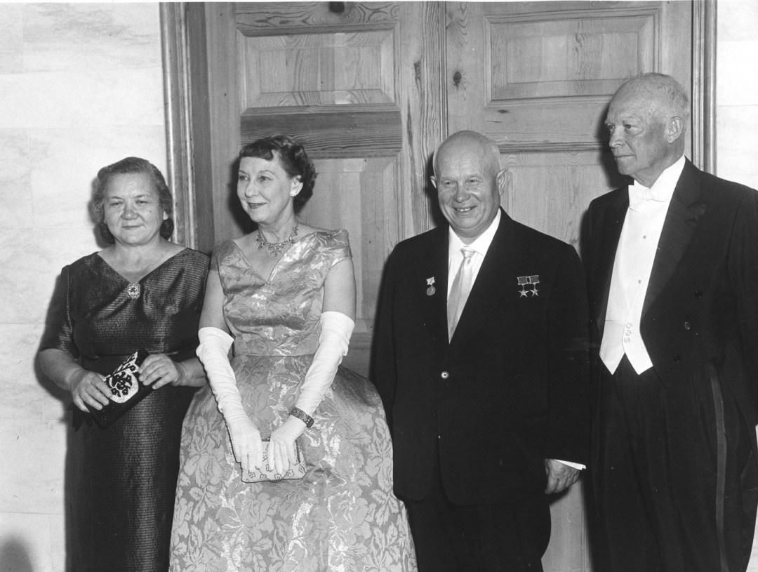 The Khrushchevs & The Eisenhowers