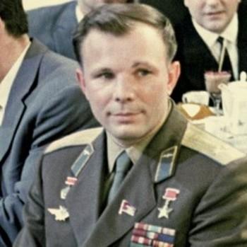 Памятник первому космонавту Юрию Гагарину установлен в Вифлееме