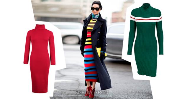 14 стильных платьев, которые просто созданы для холодов
