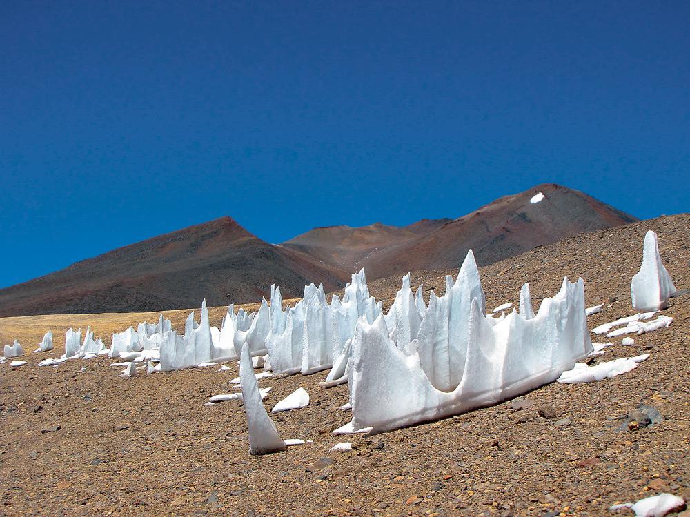 Чили: кающиеся снега