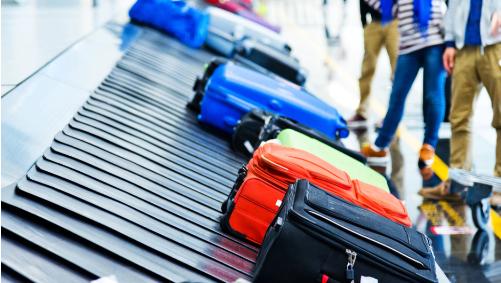 Простой трюк гарантирует, что ваша сумка окажется вначале багажной ленты