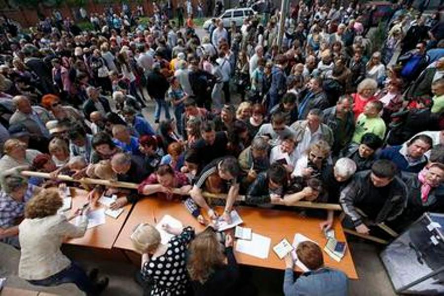 Современная война. Донбасс, роковой референдум