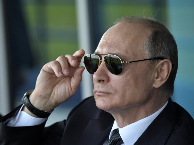 Россияне оценили работу Путина