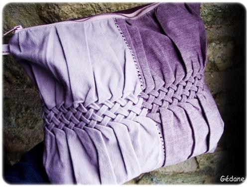 Буфы-косы как способ драпировки ткани