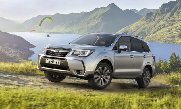 Объявлена самая популярная модель Subaru в РФ