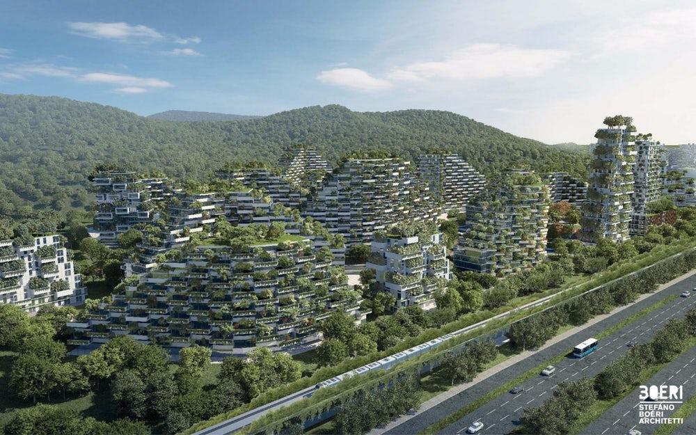 Я знаю: город будет! Я знаю: саду цвесть! Проект китайского города-леса