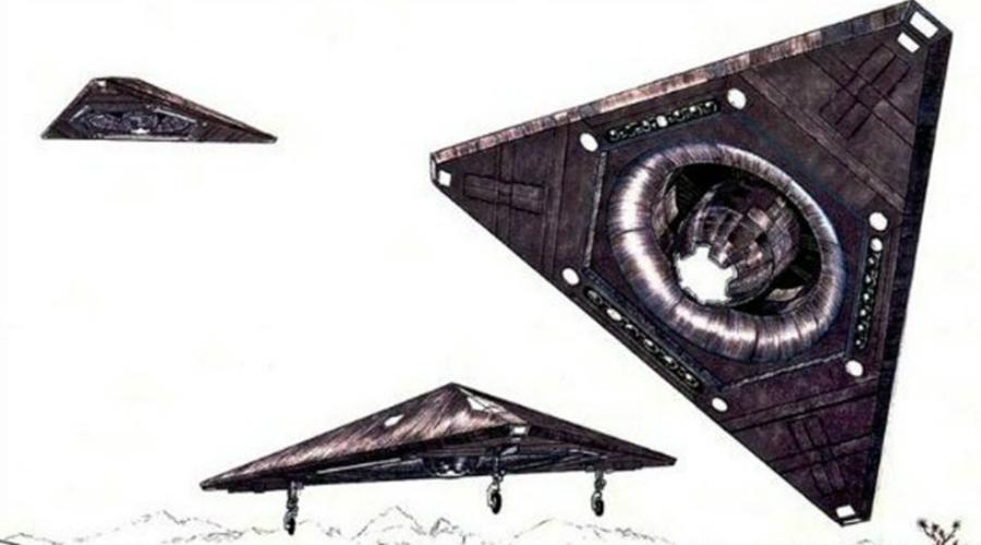 TR-3B: секретные НЛО американской армии