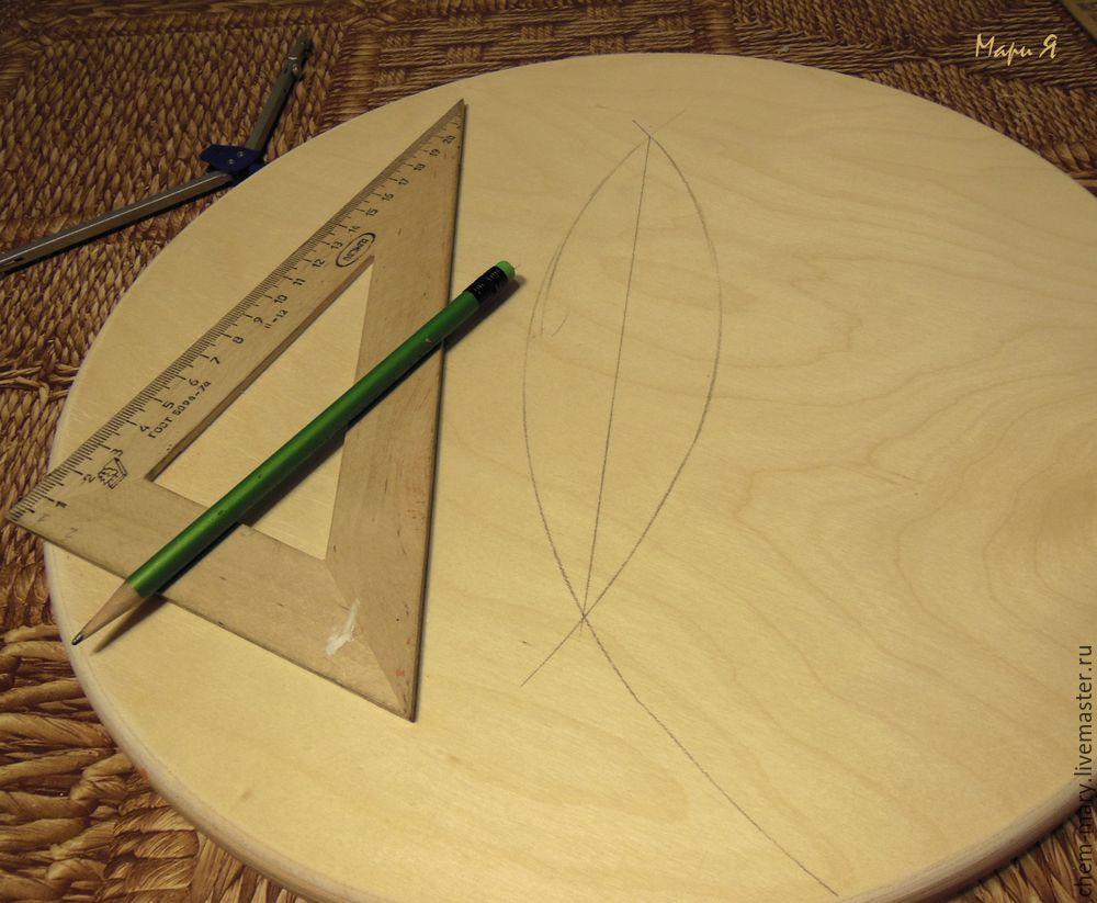 Мастер-класс по декорированию табурета «Мой прекрасный сад».