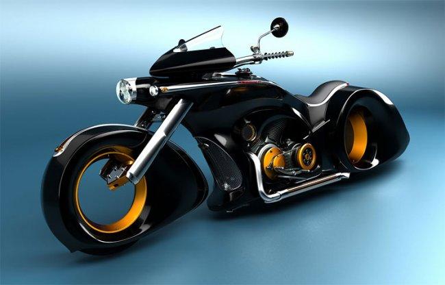 Самые уникальные мотоциклы в мире