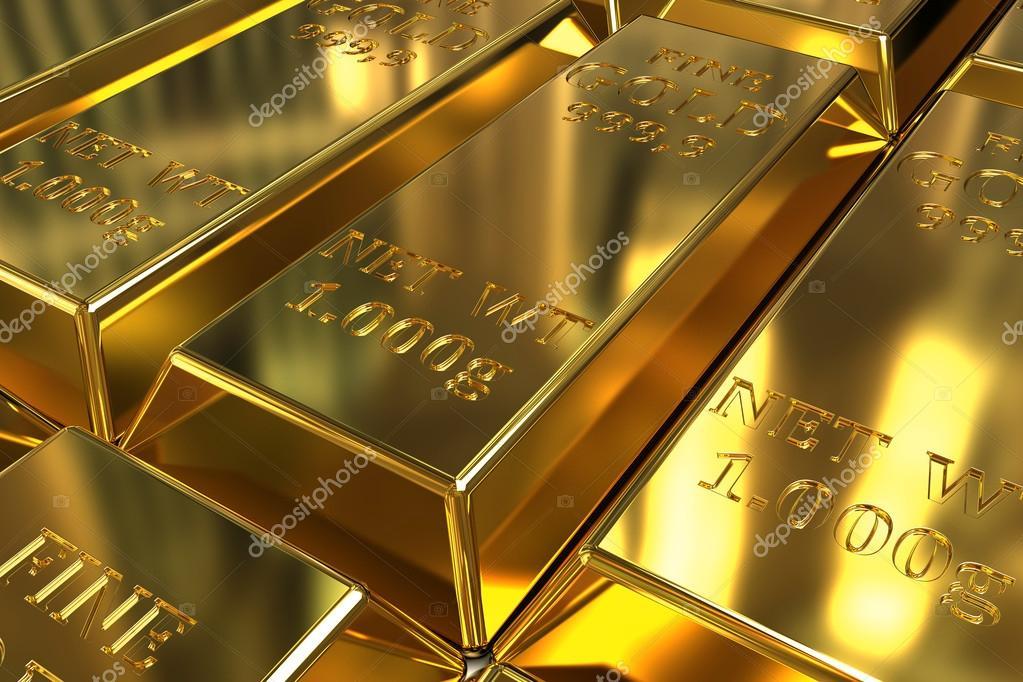 Золото вместо бумажек