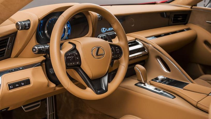 Флагманское купе Lexus LC: российские цены и сроки продаж