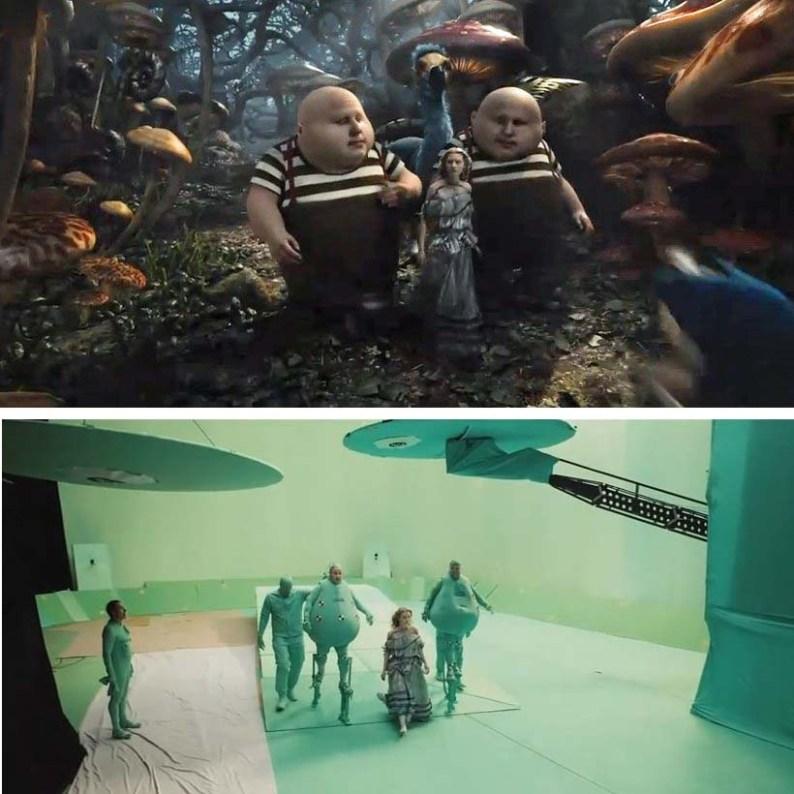 Как бы выглядели фильмы без визуальных эффектов.