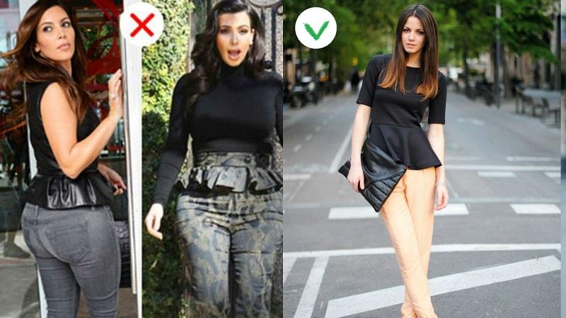 как правильно сочетать женскую одежду