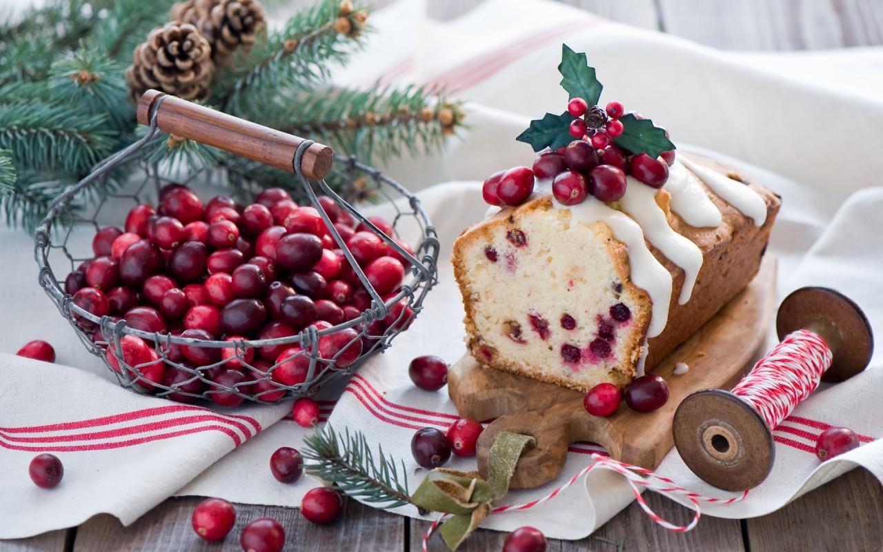 Три рецепта выпечки к Рождеству