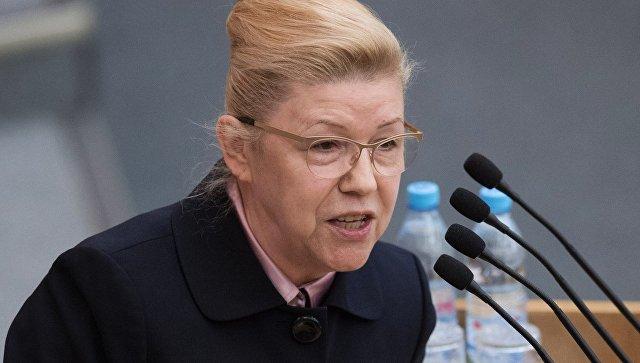 Мизулина выступила против уроков о борьбе с коррупцией для школьников