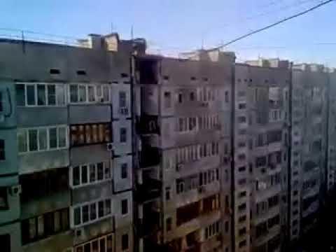 Очень страшное видео взрыва в Магнитогорске в динамике
