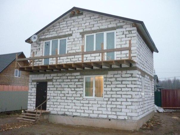 Дом из пеноблоков - плюсы и минусы