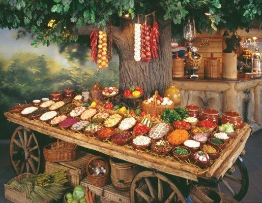 Старинные славянские кушания