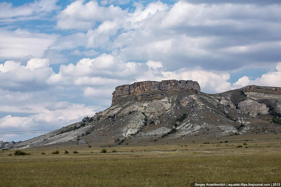 Ак-Кая или Белая скала - каменная красавица Крыма