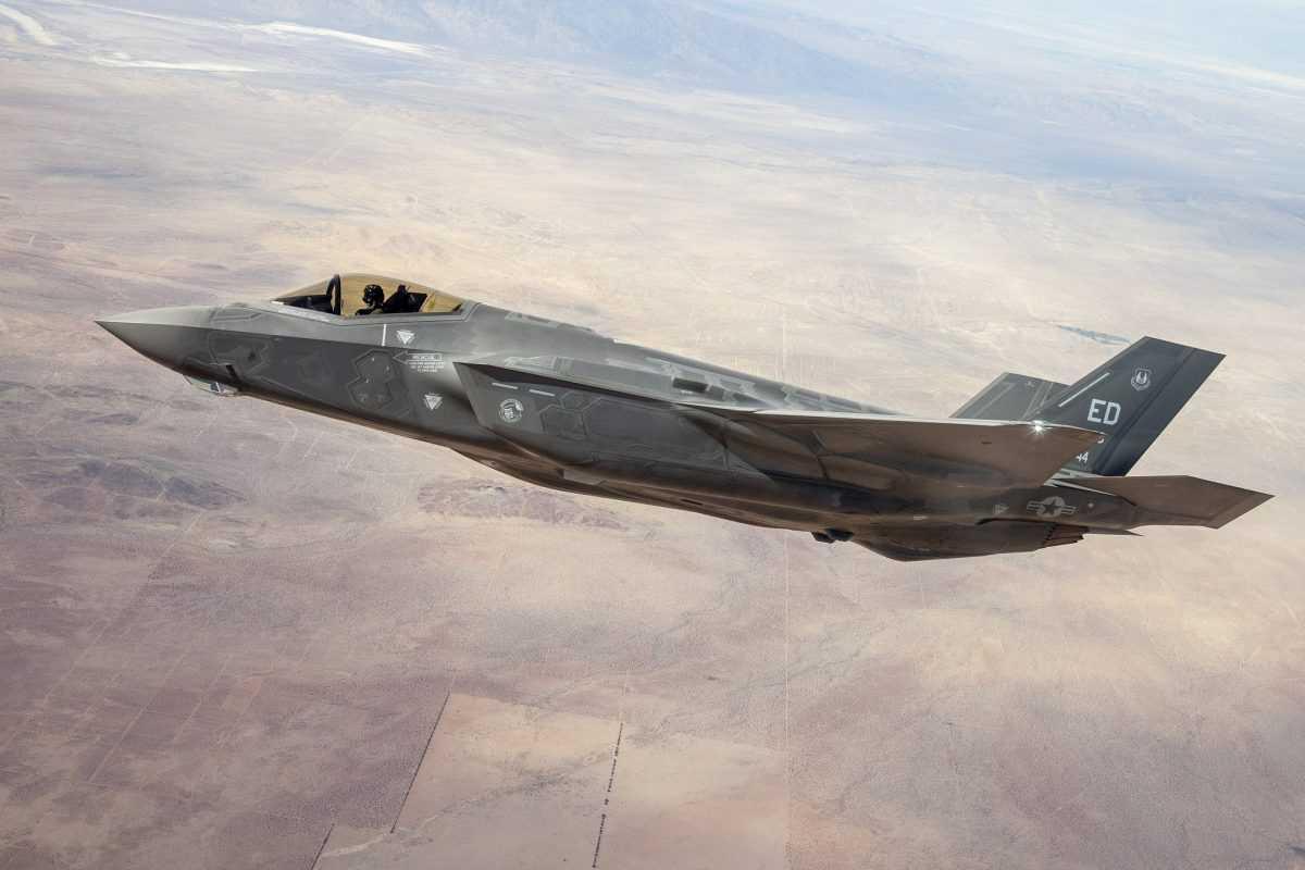 F-35 показал на учениях полное превосходство в воздушном бою