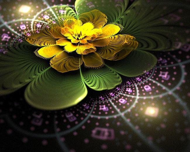 Цифровые цветы от Татьяны Кондратовой