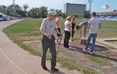 В Таганроге 95-летний пенсионер сдал нормы ГТО