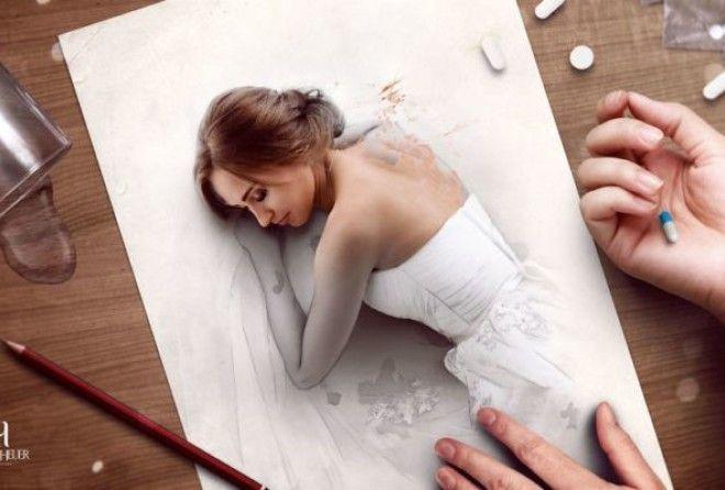 Художник-самоучка из Бразилии создаёт реалистичные изображения