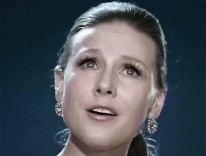 Известная в 1960-1970-х гг. советская певица Мария Пахоменко   Фото: facenews.ua