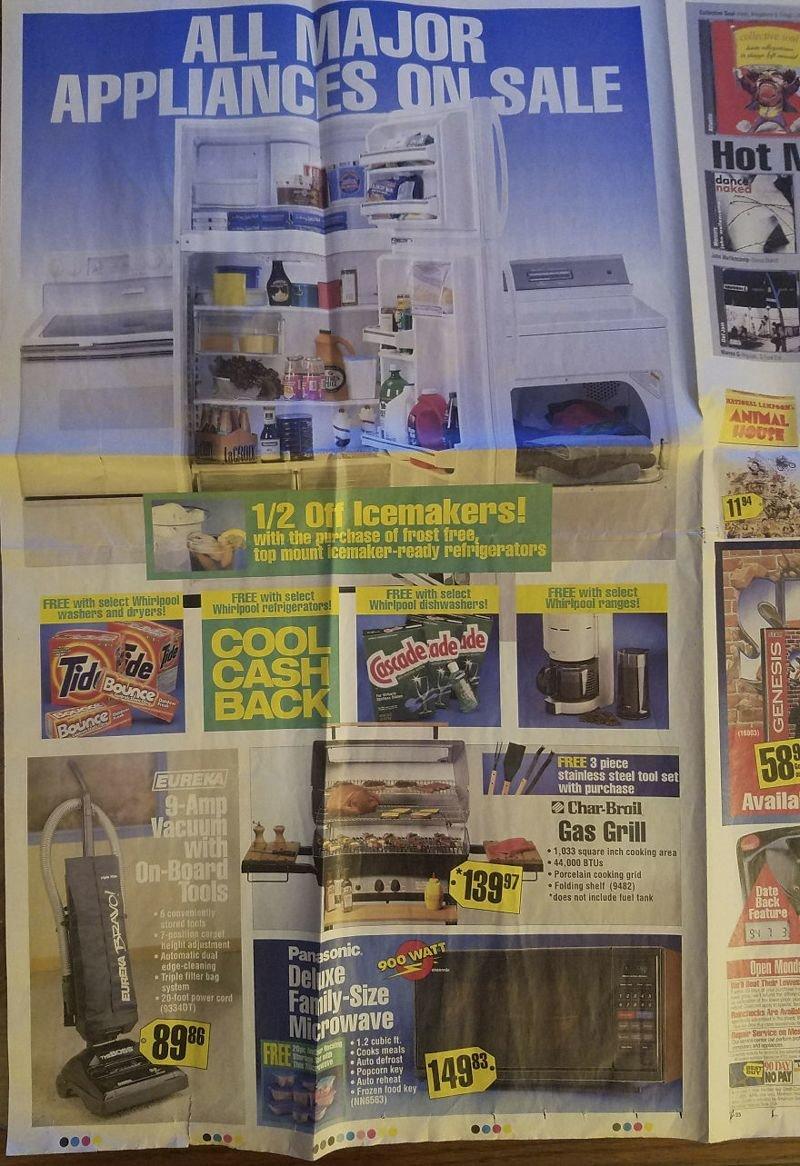 Этот рекламный проспект 1994 года показывает самую крутую технику того времени вещи, гаджеты, ностальгия, реклама, техника