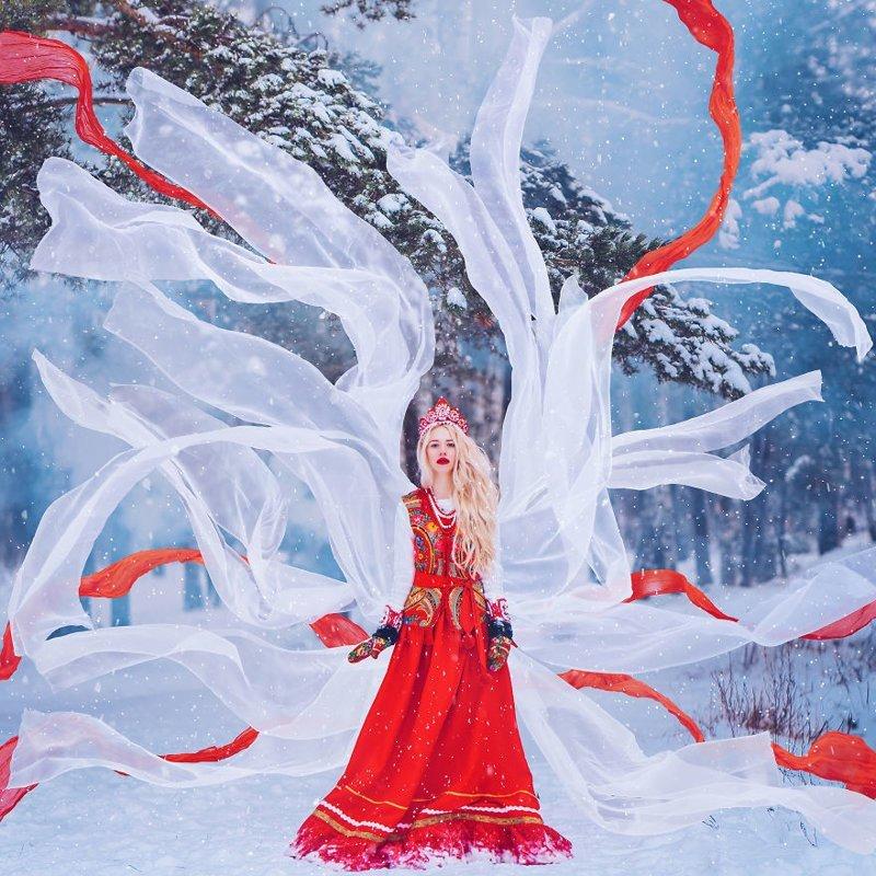 12. достопримечательность, зима, кристина макеева, москва, сказка, снег, фотография, фотомир