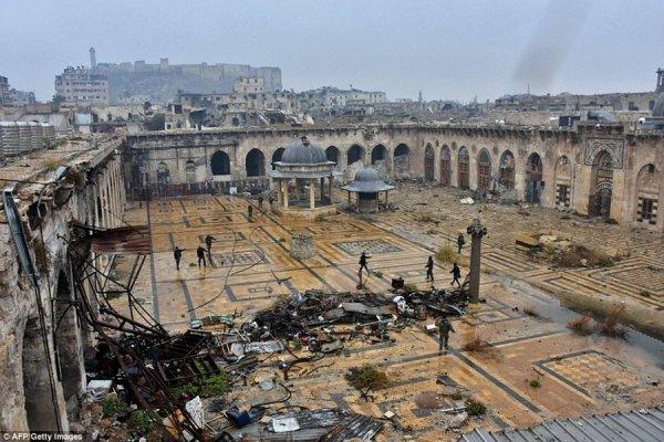 РФ поможет восстановить мечеть Омейядов в Алеппо